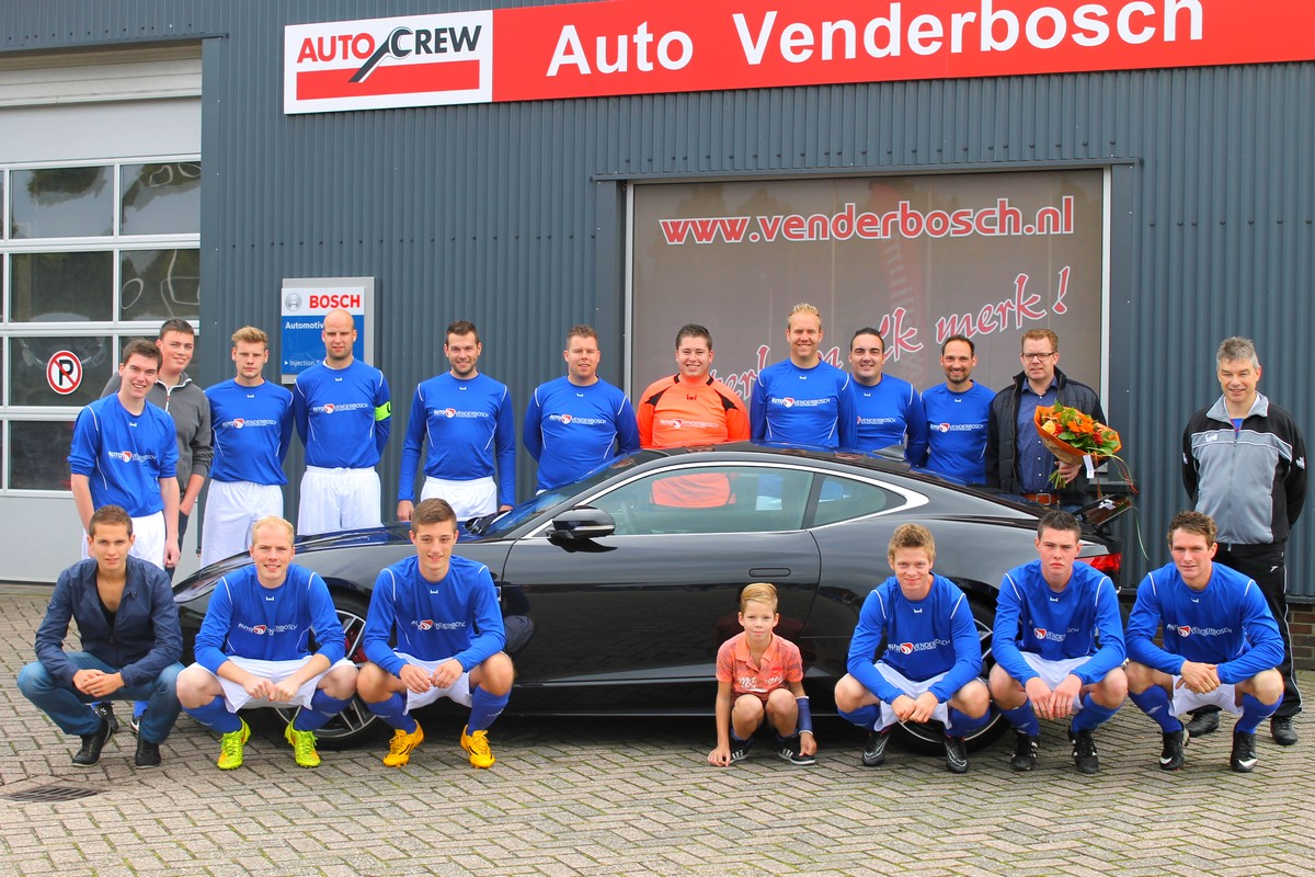 Auto Venderbosch sponsort Halle 2