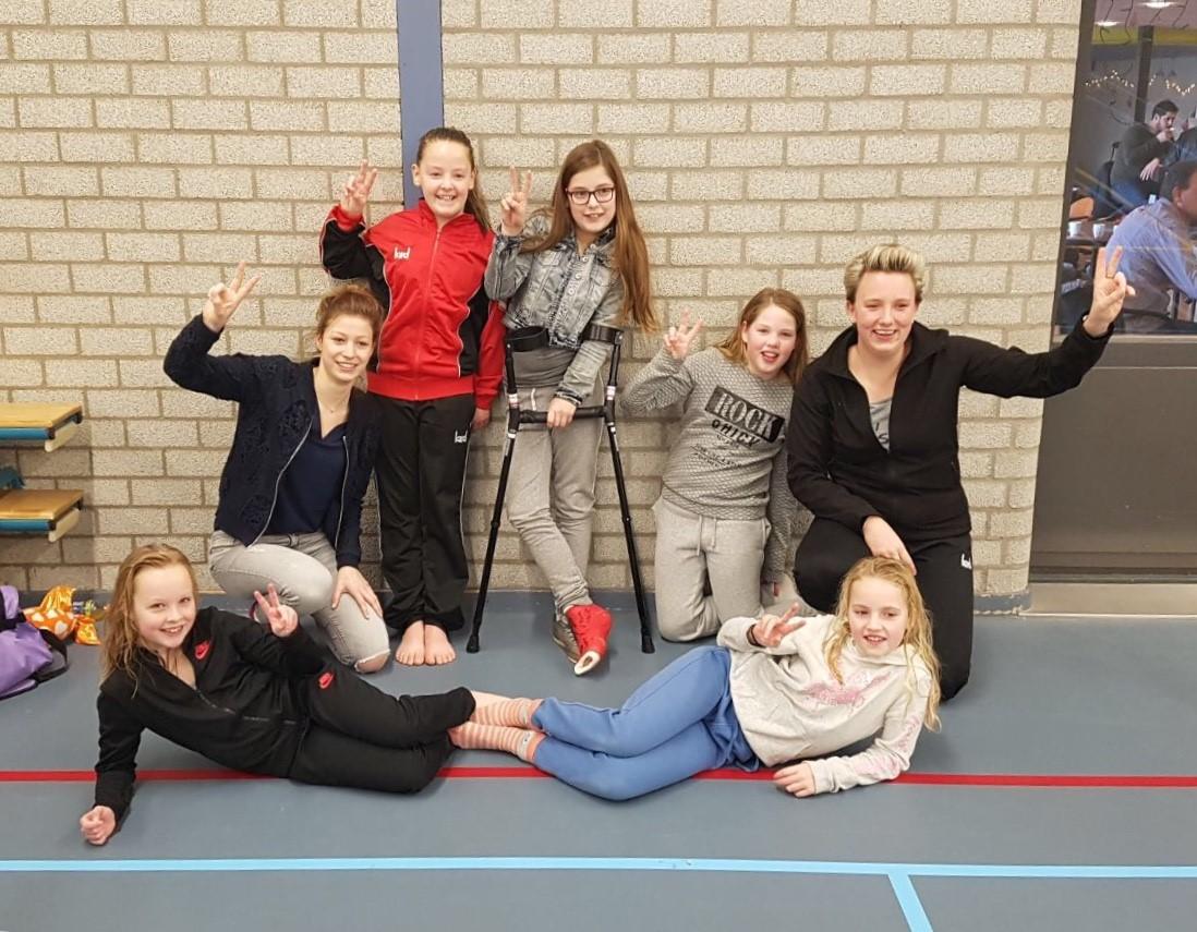 Tweede plaats voor Volleybal Mini's Niveau 4