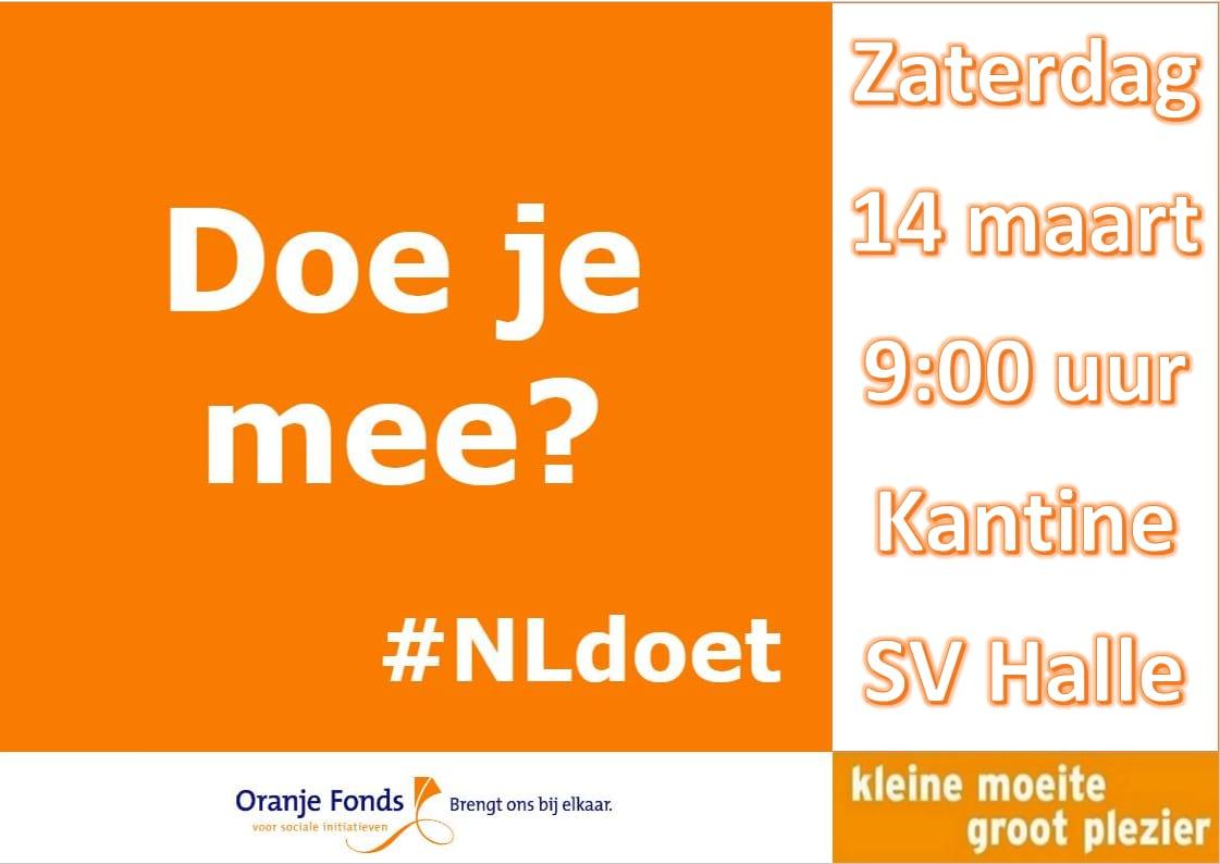 #NLDoet en Vrijwilligersavond